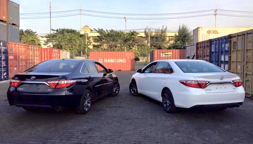 Ngắm cặp đôi Toyota Camry XSE 2016 phiên bản Mỹ 3